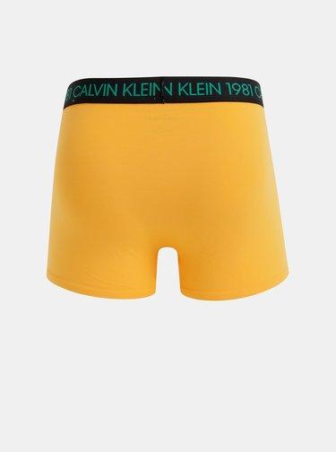 Oranžové boxerky Calvin Klein Underwear