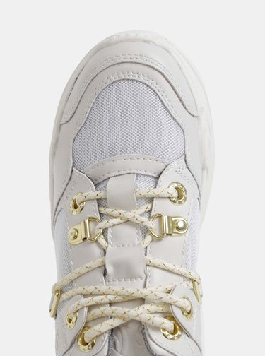 Biele dámske tenisky na platforme s.Oliver