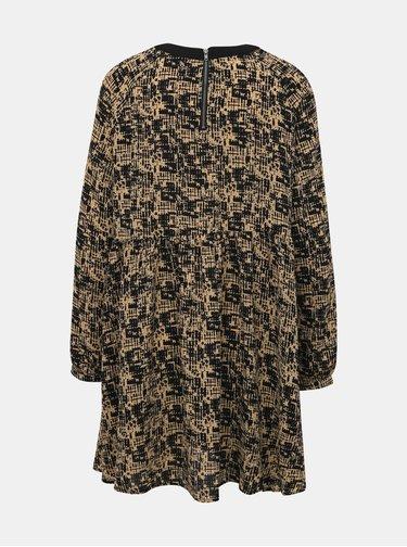 Světle hnědé vzorované šaty Noisy May Lena