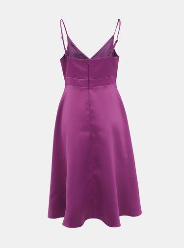 Fialové šaty na ramienkach Dorothy Perkins