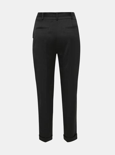 Čierne tapered fit nohavice Dorothy Perkins