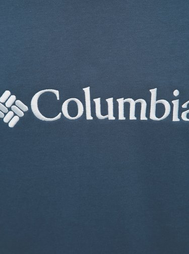 Modrá pánska mikina s kapucou Columbia