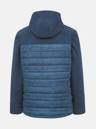 Modrá pánska prešívaná zimná bunda Columbia Powder Lite Hybrid