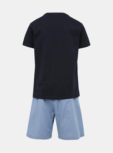 Modré pánske pyžamo Tommy Hilfiger