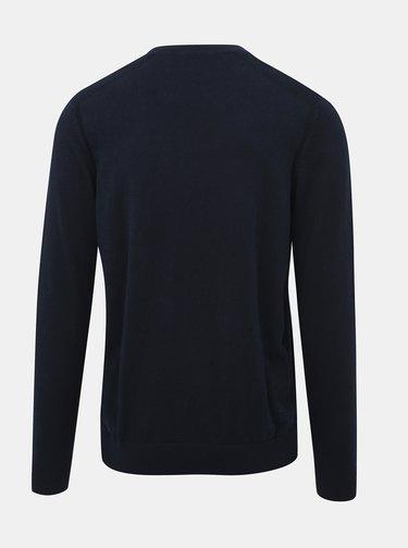 Tmavě modré basic svetr Selected Homme Daniel