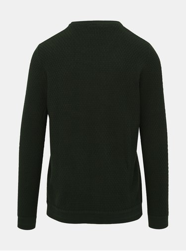 Zelený sveter Selected Homme Oliver
