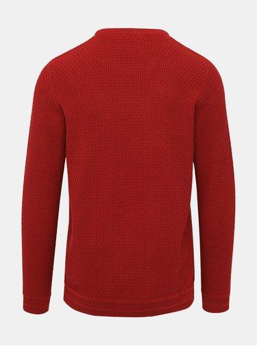 Červený sveter Selected Homme Oliver