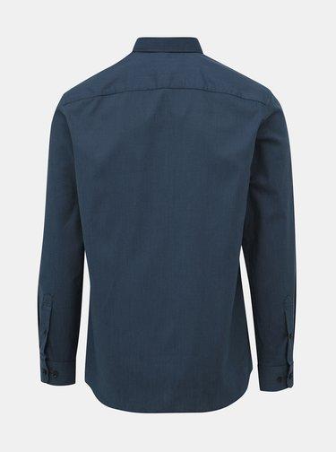Modrá vzorovaná regular fit košeľa Selected Homme Regpen