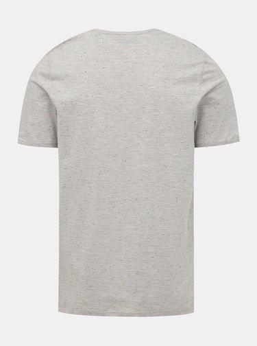 Šedé tričko s kapsou Jack & Jones Nepsen