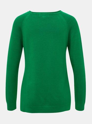 Zelený basic svetr ZOOT