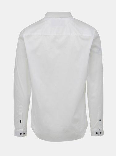 Bílá slim fit košile Jack & Jones Sander