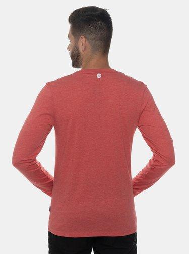 Červené pánske tričko s potlačou SAM 73