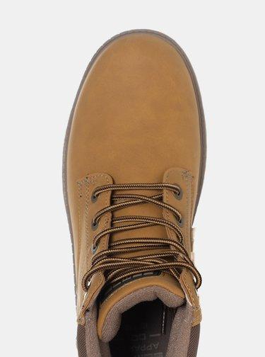 Světle hnědé pánské kotníkové boty SAM 73
