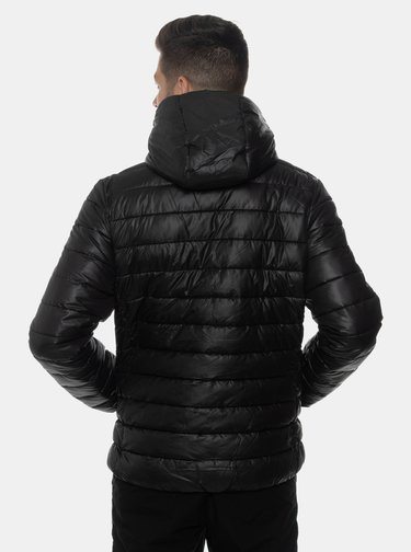 Čierna pánska prešívaná bunda SAM 73