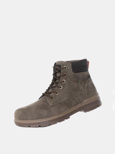 Šedé pánske členkové topánky SAM 73
