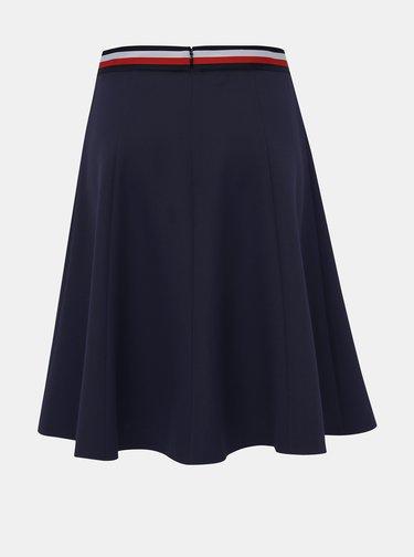 Tmavomodrá sukňa Tommy Hilfiger Britt