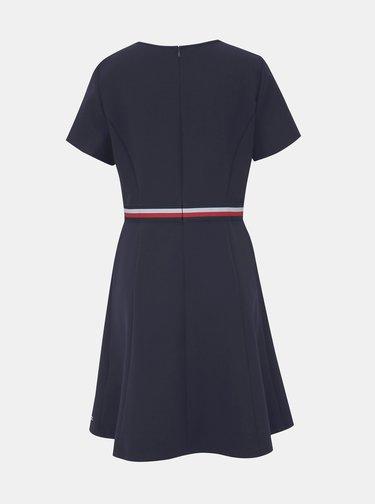 Tmavomodré šaty Tommy Hilfiger Britt