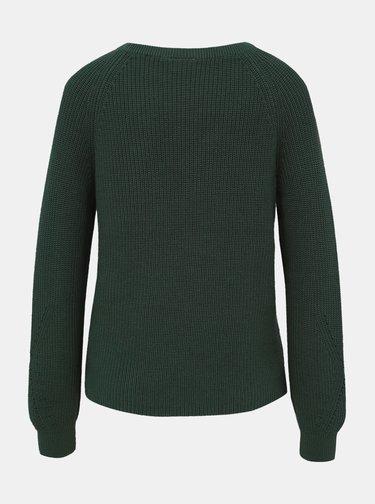 Tmavě zelený svetr VILA Myntani