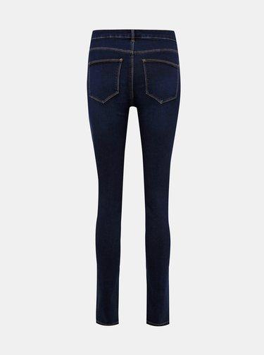 Tmavě modré slim fit džíny VILA Commit