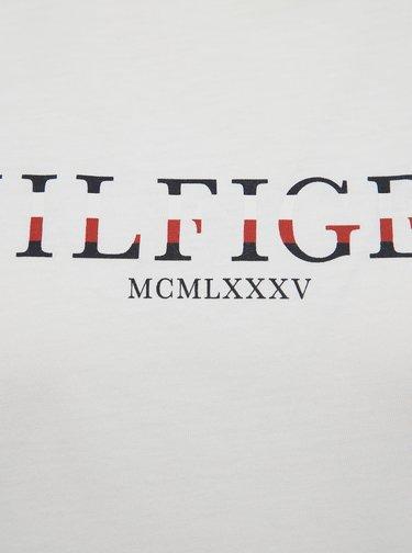 Bílé dámské tričko s potiskem Tommy Hilfiger