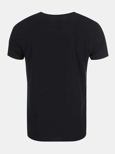 Set de 3 tricouri Tommy Hilfiger negre