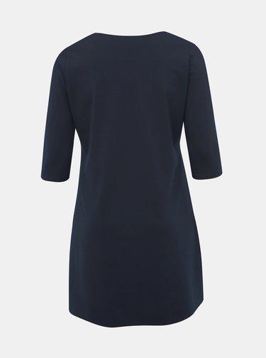 Tmavě modré basic šaty ONLY CARMAKOMA Jennifer