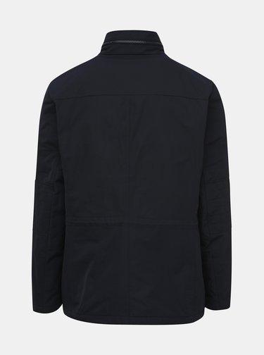Tmavomodrá pánska vodeodolná zimná bunda Geox Renny