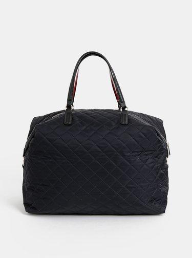Čierna kabelka Tommy Hilfiger Poppy