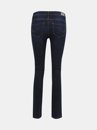 Tmavě modré slim fit džíny ONLY Eva