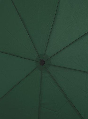Tmavě zelený skládací deštník Doppler