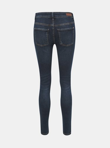 Modré skinny fit džíny Jacqueline de Yong Rica
