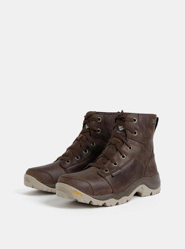 Hnědé pánské nepromokavé outdoorové boty Columbia Camden