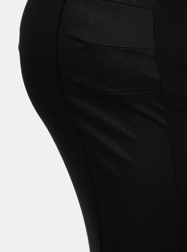Čierna tehotenská púzdrová sukňa Mama.licious Luna