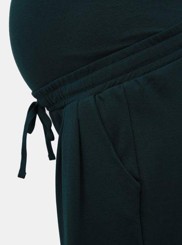 Tmavozelené tehotenské tepláky Mama.licious Lif