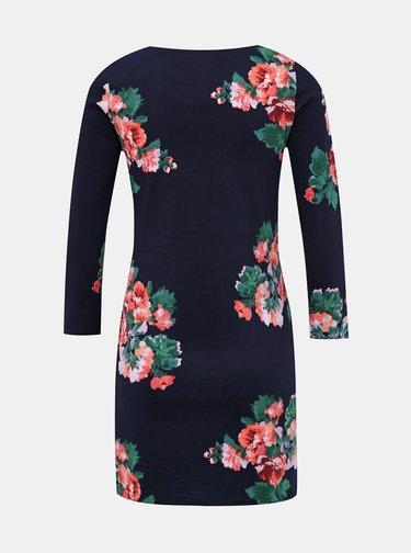 Tmavomodré kvetované šaty Tom Joule Quinn