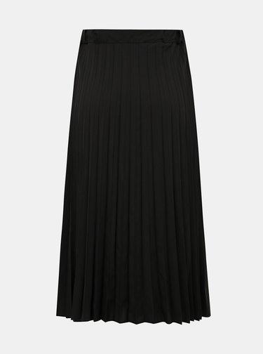Černá plisovaná sukně s knoflíky Haily´s Lari