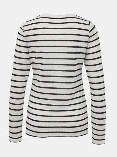 Bílé pruhované tričko Dorothy Perkins Tall