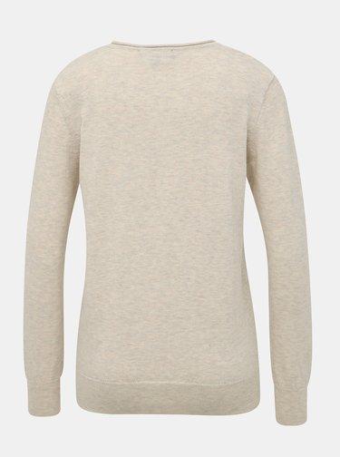 Béžový dámský basic svetr ZOOT