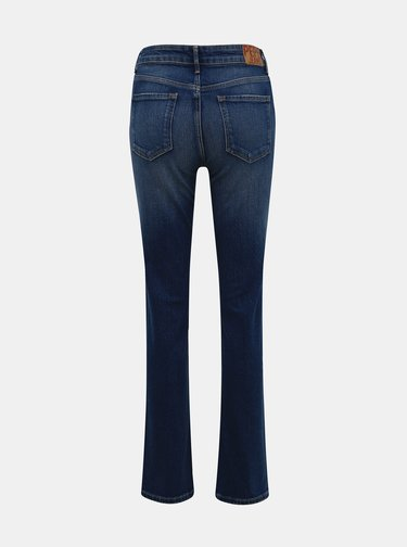 Modré dámske straight fit rifle Pepe Jeans Mary