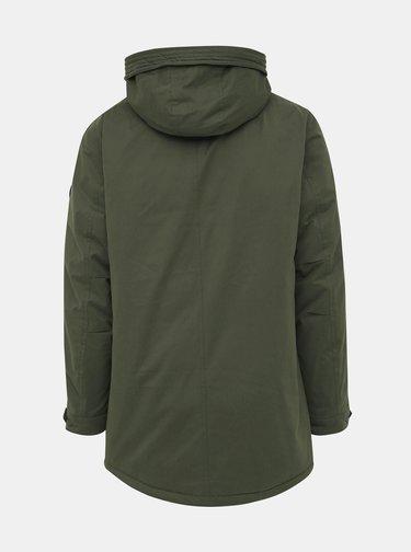 Khaki zimní bunda ONLY & SONS Ethan