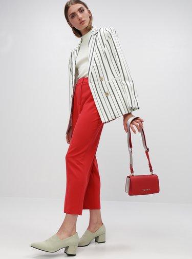 Červené dámské kalhoty Tommy Hilfiger
