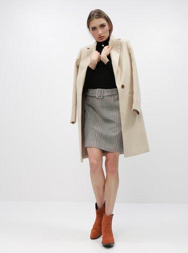 Čierny sveter so stojáčikom Miss Selfridge