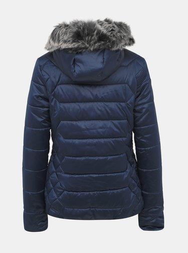 Tmavomodrá dámska prešívaná zimná vodeodpudivá bunda LOAP Tasia