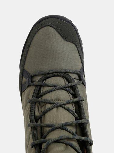 Khaki dámské voděodolné outdoorové zimní boty adidas Performance Terreex Choleah