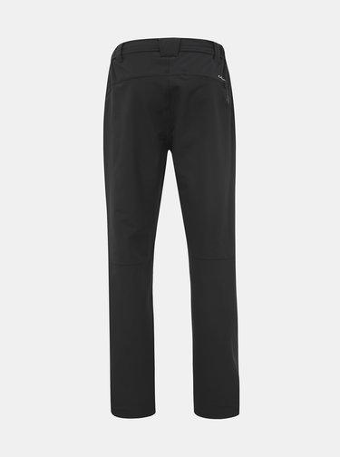 Čierne pánske softshellové funkčné nohavice LOAP Ulfo