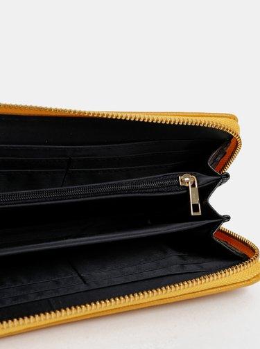 Horčicová peňaženka Dorothy Perkins