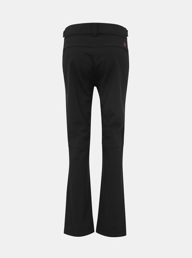 Čierne dámske softshellové funkčné nohavice LOAP Lycci