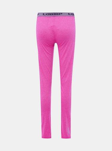 Rúžové dámske termo nohavice LOAP Petula