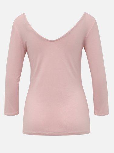Světle růžové tričko Dorothy Perkins Tall
