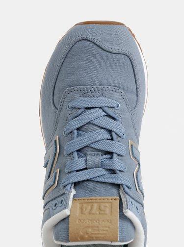 Modré dámské tenisky New Balance 574